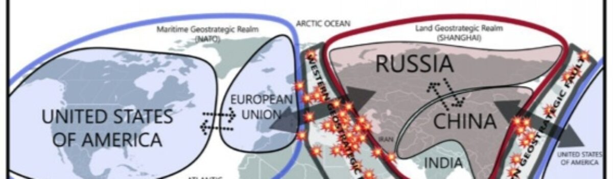 Active Geostrategic Faults in the World